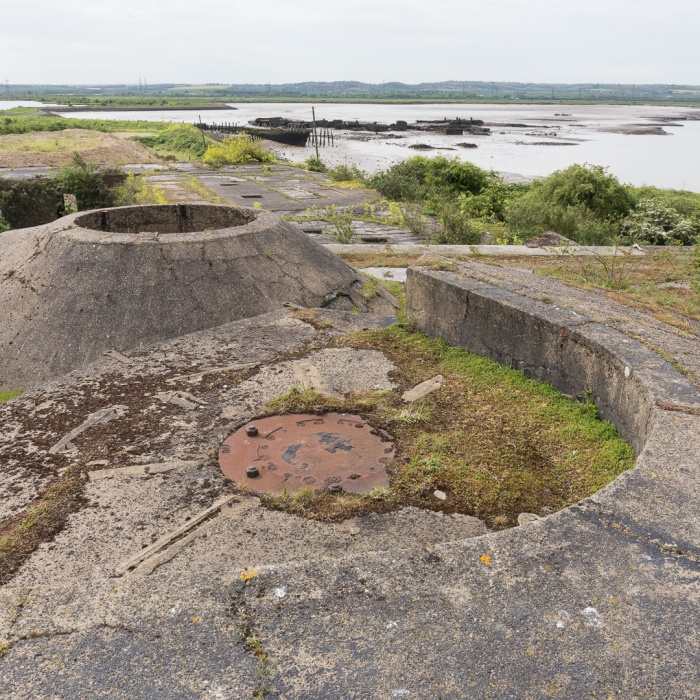 Anti-aircraft battery, Cliffe Fort, Hoo Peninsula.