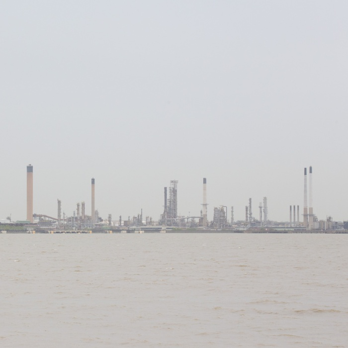 Thames Haven Oil Refinery.