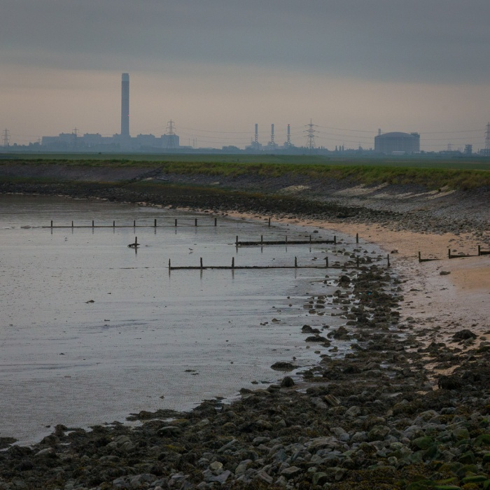Grain Power Station and Liquified natural gas plant, Isle of Grain.