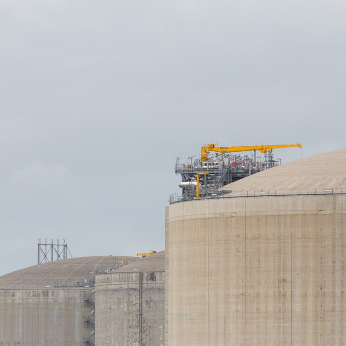 National Grid's Liquefied Natural Gas (LNG) facility, the UK's largest, Grain.