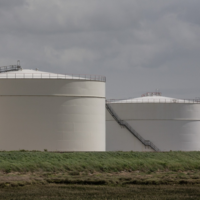 Liquefied Natural Gas (LNG) facility, Grain.