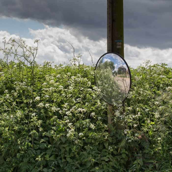 Drive Mirror, Kingsnorth.