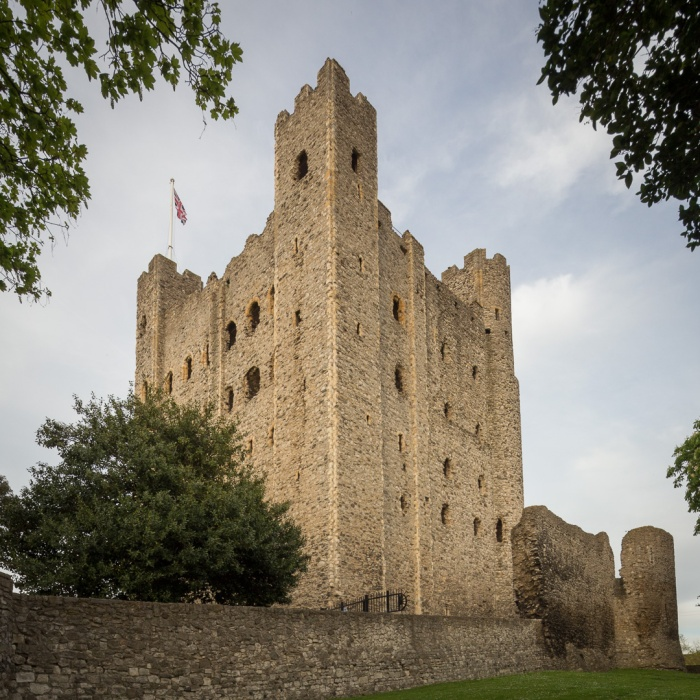 Rochester Castle Keep, built around 1127.