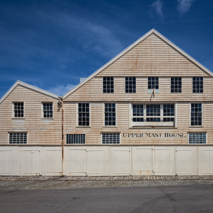Upper Mast House. The Historic Dockyard Chatham.