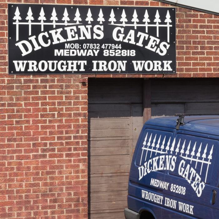 Dickens Gates, Gillingham.