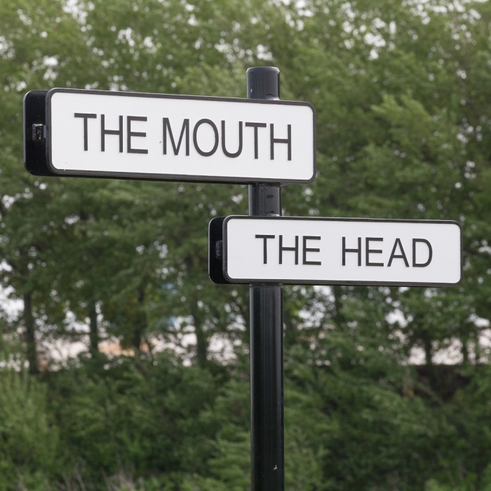 The Mouth. The Head. Sittingbourne.