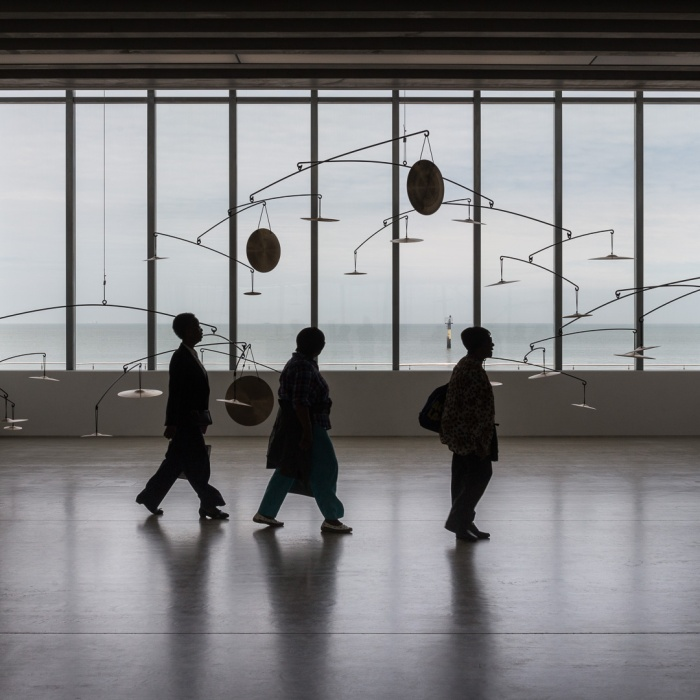 We Will See How Everything Reverberate by Carlos Amorales. Turner Contemporary, Margate.