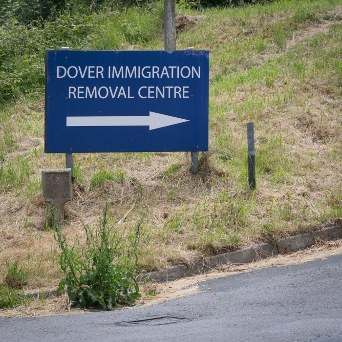 Dover Immigration Removal centre I.