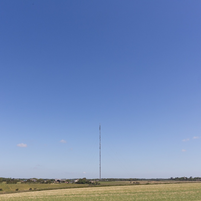 The Dover Transmitter, the UHF main station for the far south-east of England, Church Hougham.