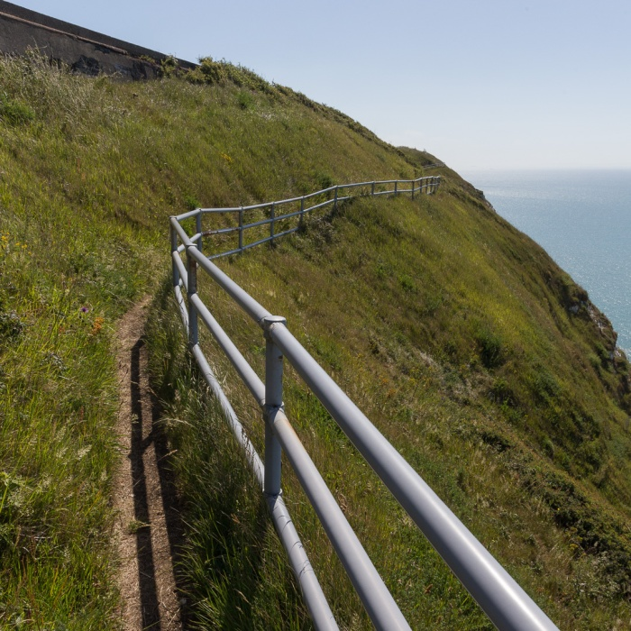 Footpath near Abbot's Cliff.