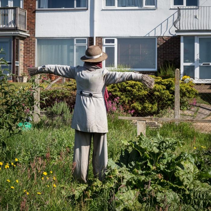 Scarecrow, Capel-le-Ferne.