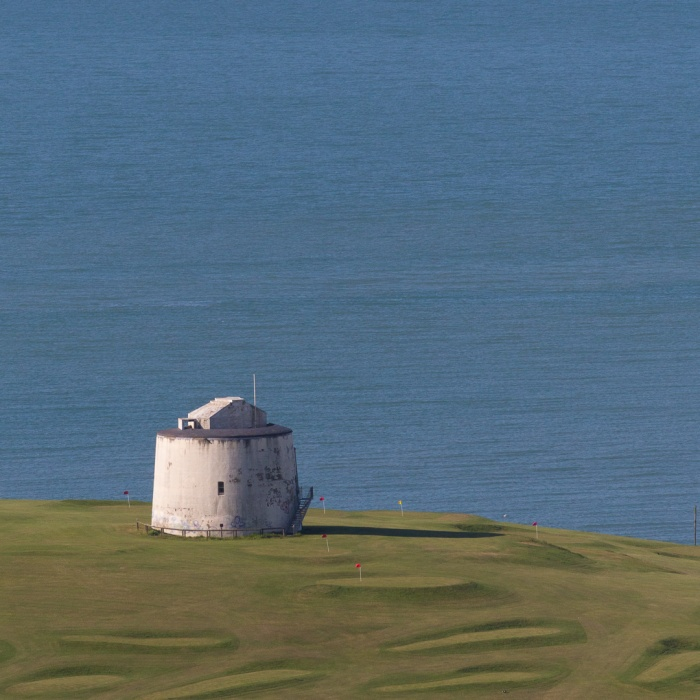 Pitch & Putt Martello tower, Folkestone.
