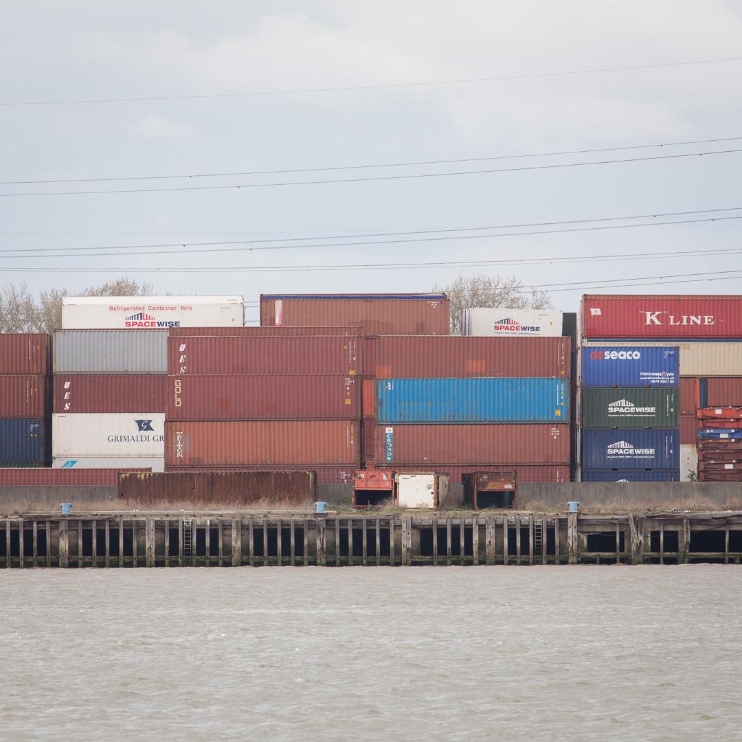Container depot, Dagenham