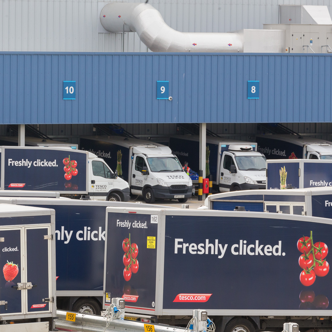 Tesco Distribution Centre, Erith.