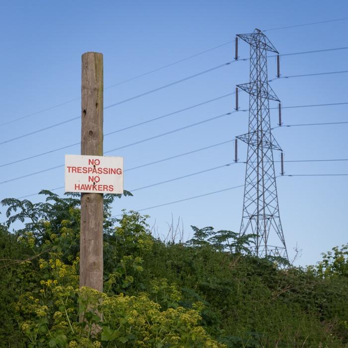 No Trespassing. No Hawkers. Dartford.