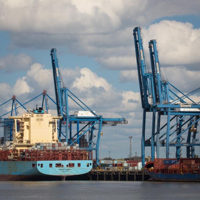 Maersk Labrea, Hong Kong. Tilbury Docks.