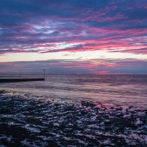 Sunset, Birchington-on-sea.