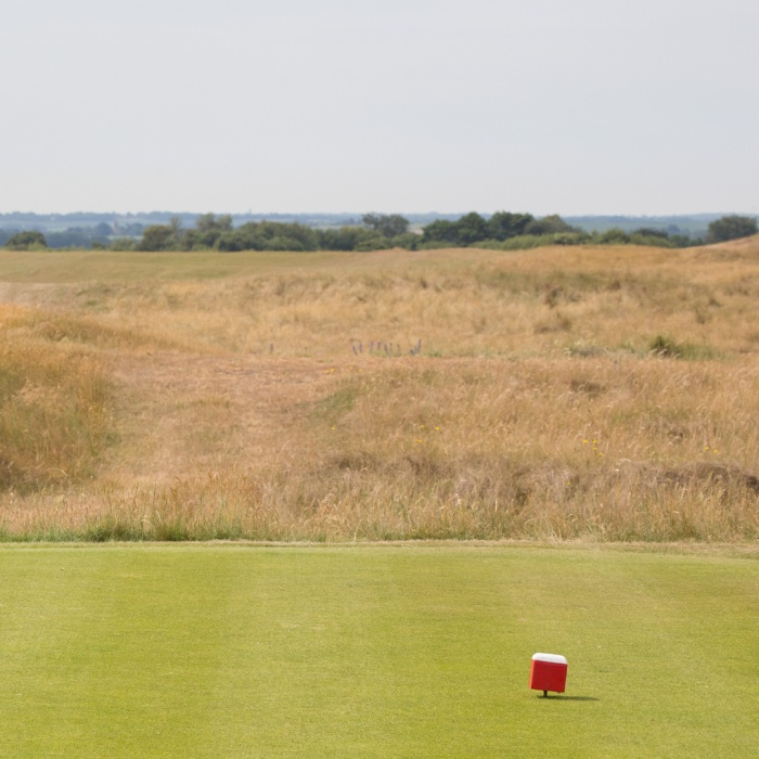 Royal St. George's Golf Club, Sandwich Bay.