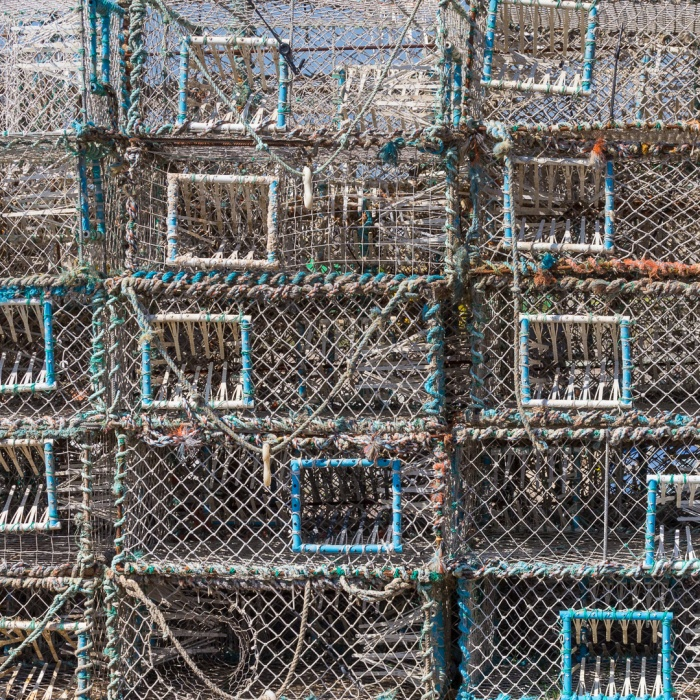 Cuttlefish traps, The Stade, Hastings, Sussex.