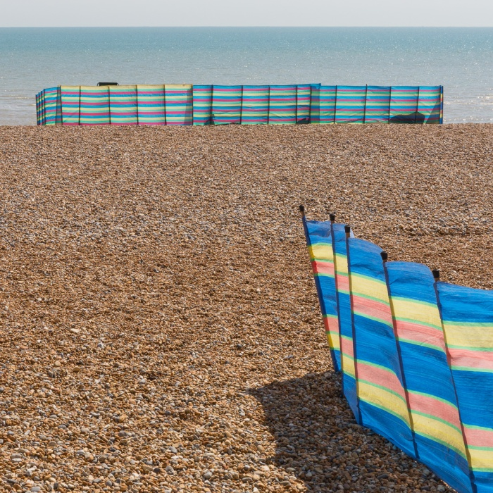 Marking territory, Bexhill-on-Sea, Sussex.