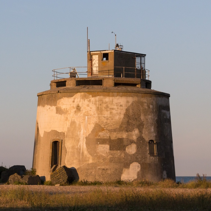 Martello Tower 66, Langley Point, Eastbourne, Sussex.