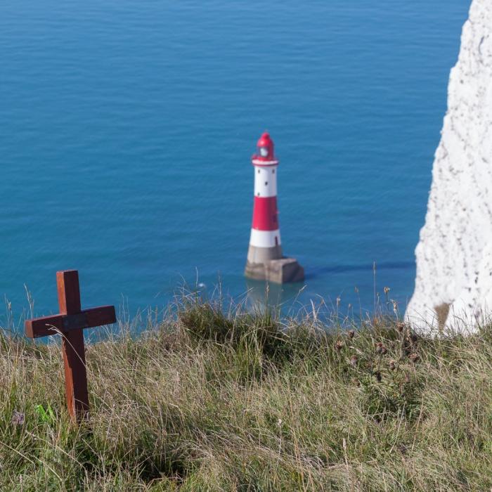 Jumpers memorial I, Beachy Head, Sussex.
