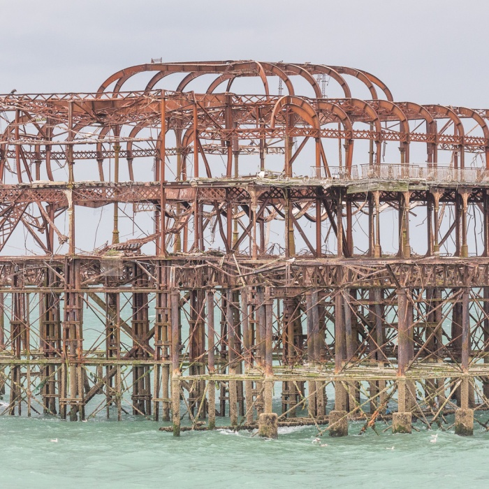 West Pier II, Brighton, Sussex