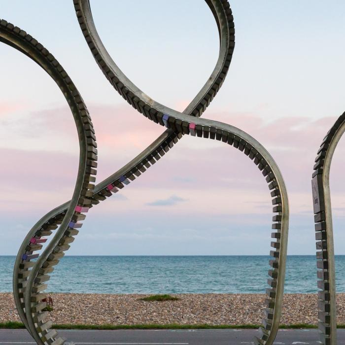 The Longest Bench by Studio Weave, Littlehampton