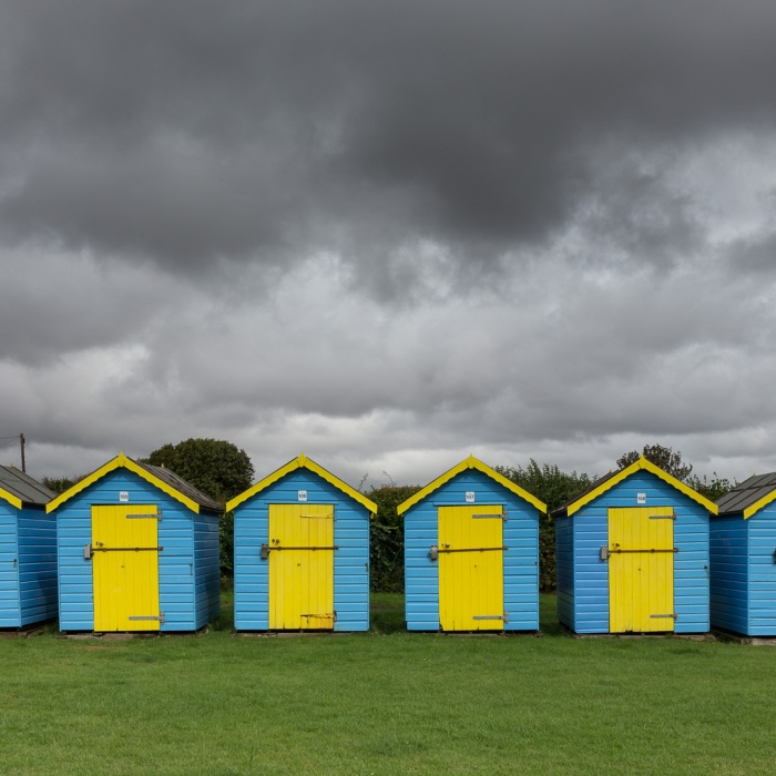 Beach Huts, Middleton-on-Sea, Sussex.