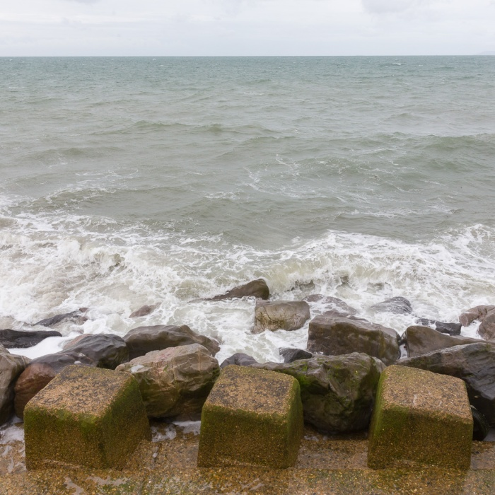 Riprap, Selsey Bill, Sussex.