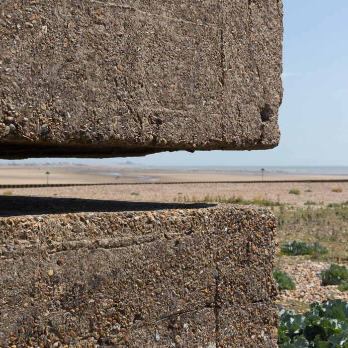 Rye Harbour Pill Box I, Sussex.