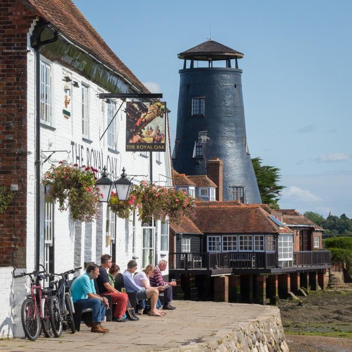 Royal Oak and Mill, Langstone, Hampshire.