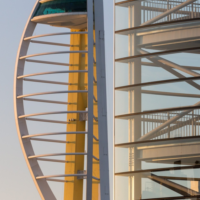 Spinnaker Tower I, Portsmouth, Hampshire.