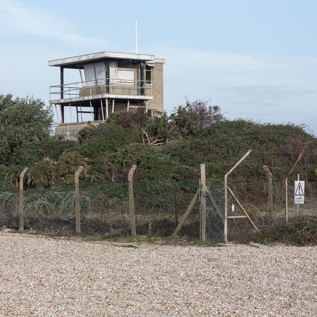 Browndown Range III, Lookout, Hampshire.