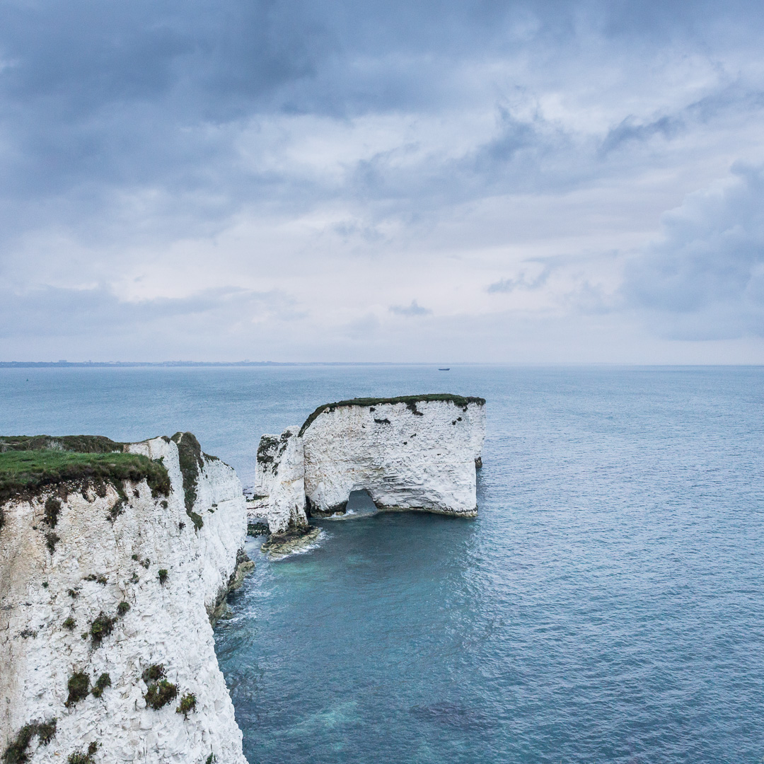 Old Harry Rocks, Studland, Dorset.