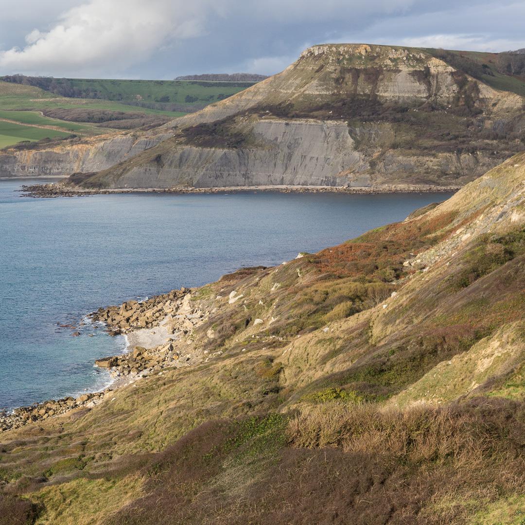 Houns-tout Cliff, Dorset.
