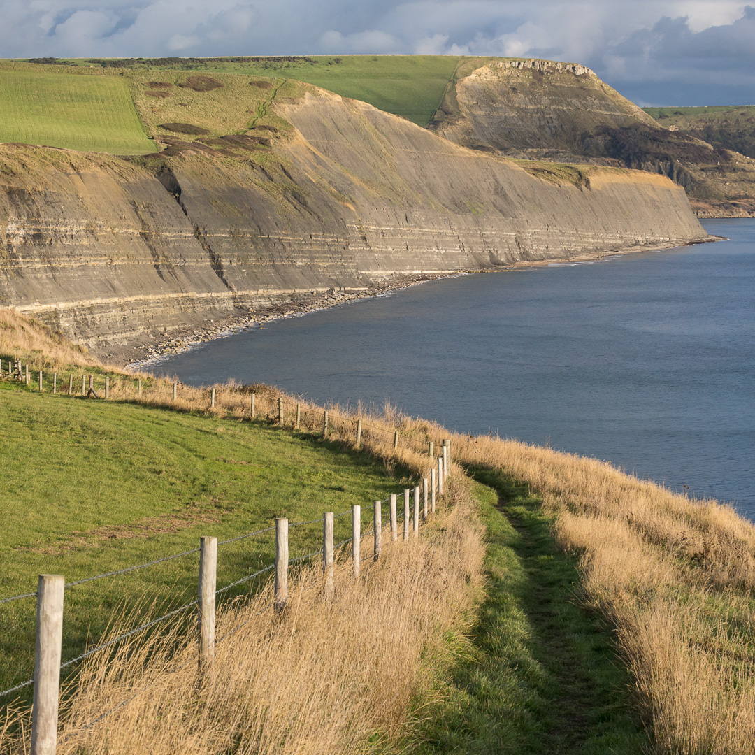 South West Coast Path towards Houns-tout Cliff, Dorset.