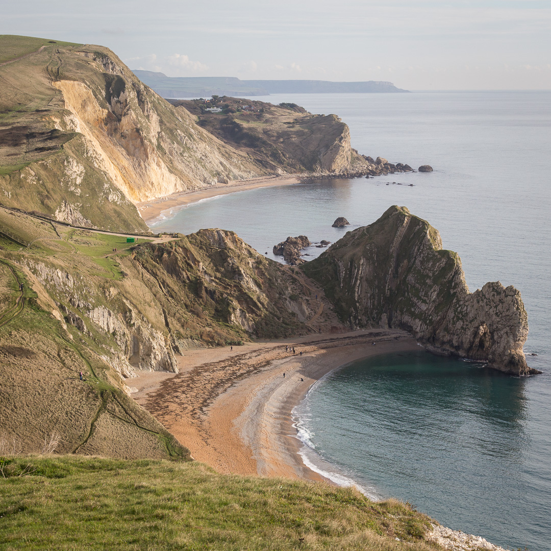Durdle Door, Dungy Head & beyond to St Aldhelm's Head, Dorset.