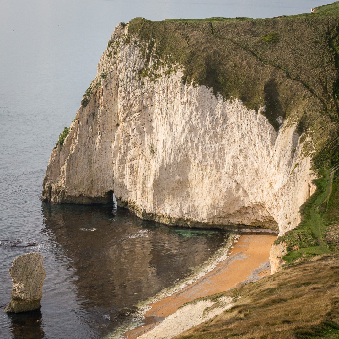 Bat's Head and Bat's Hole, Dorset.