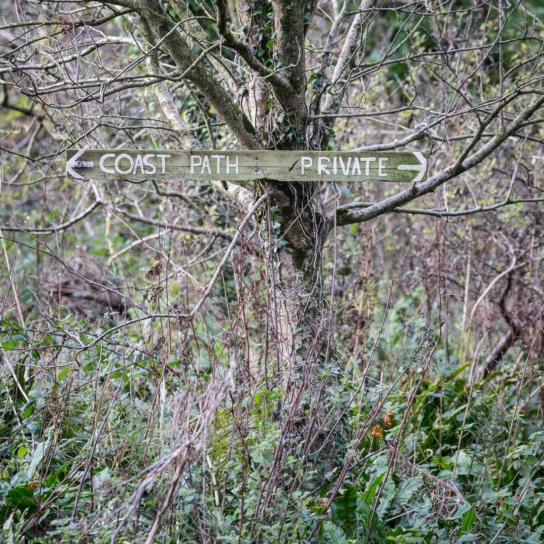 Coast Path / Private, Ringstead, Dorset.