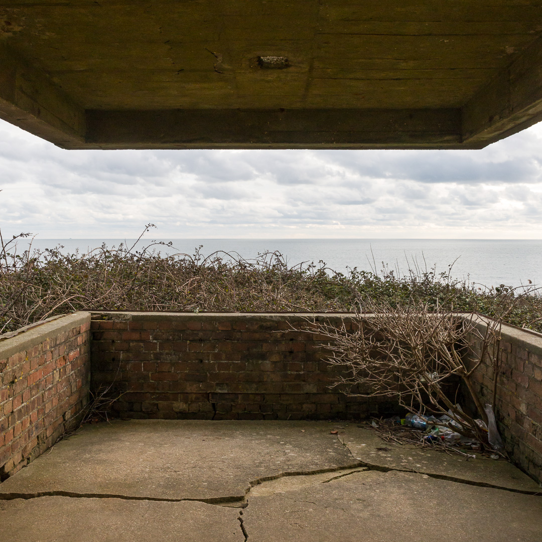 WW2 Ringstead Bay Gun Battery, Dorset.