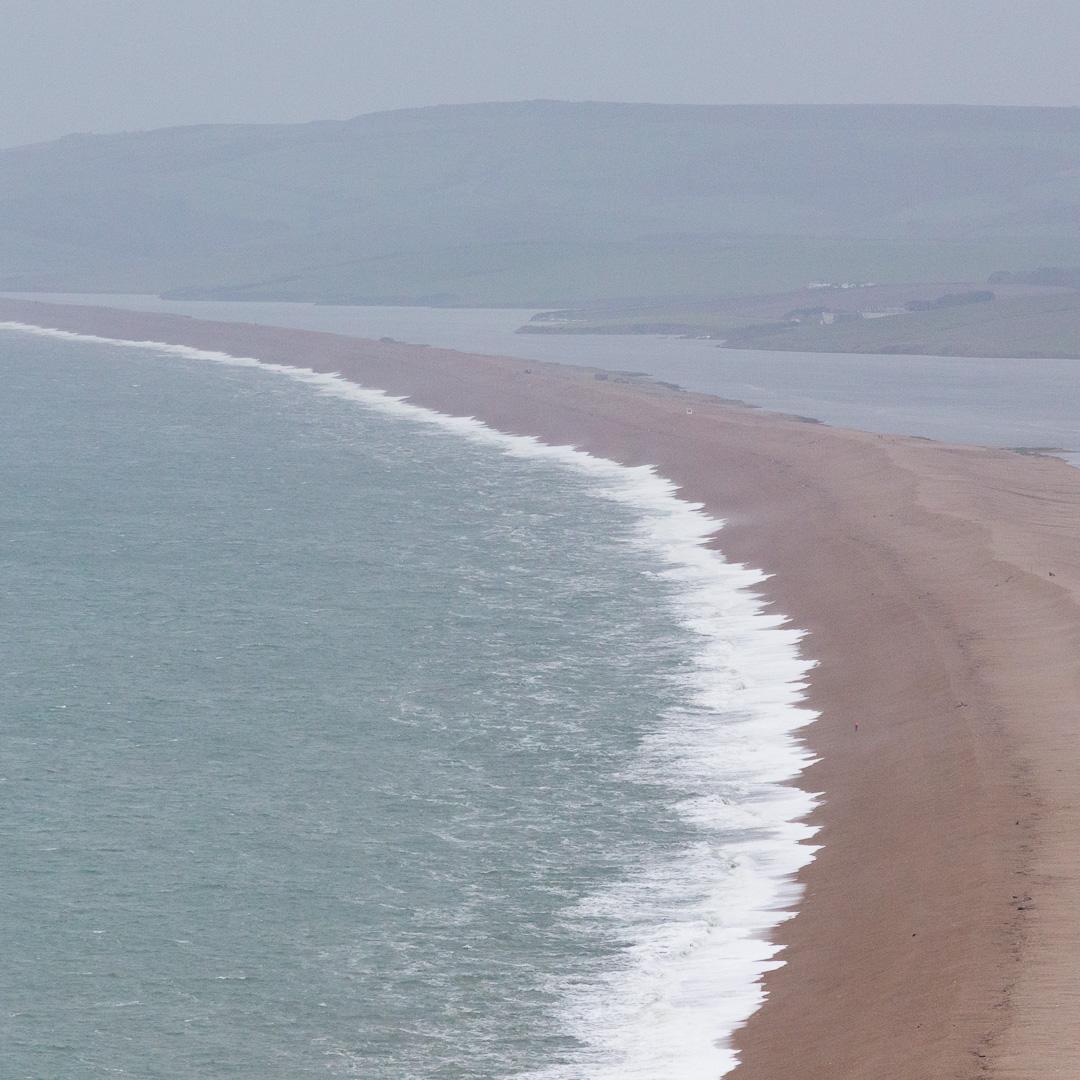 Chisel Beach from Portland, Dorset.