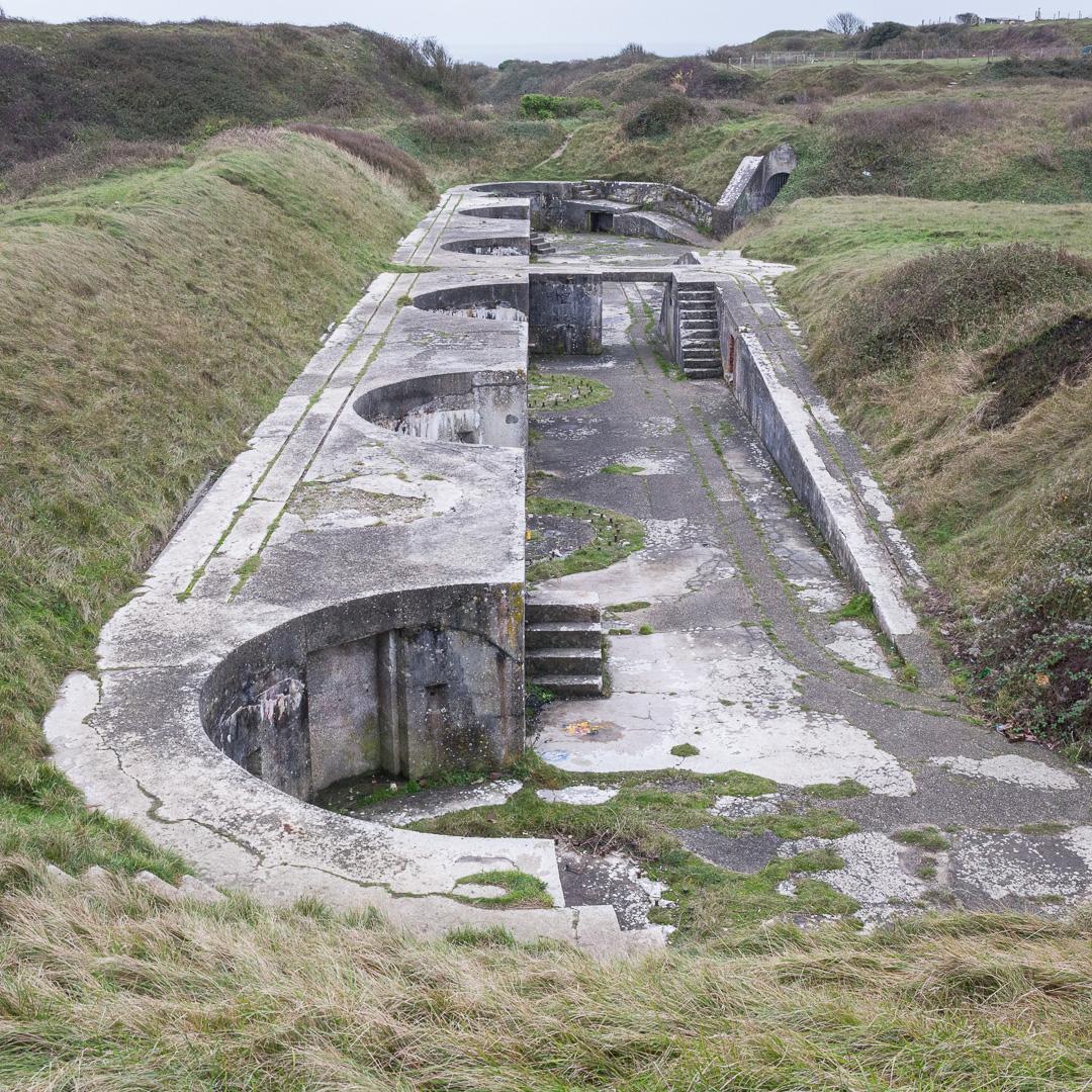 Verne High Angle Battery, built 1892, Portland, Dorset.