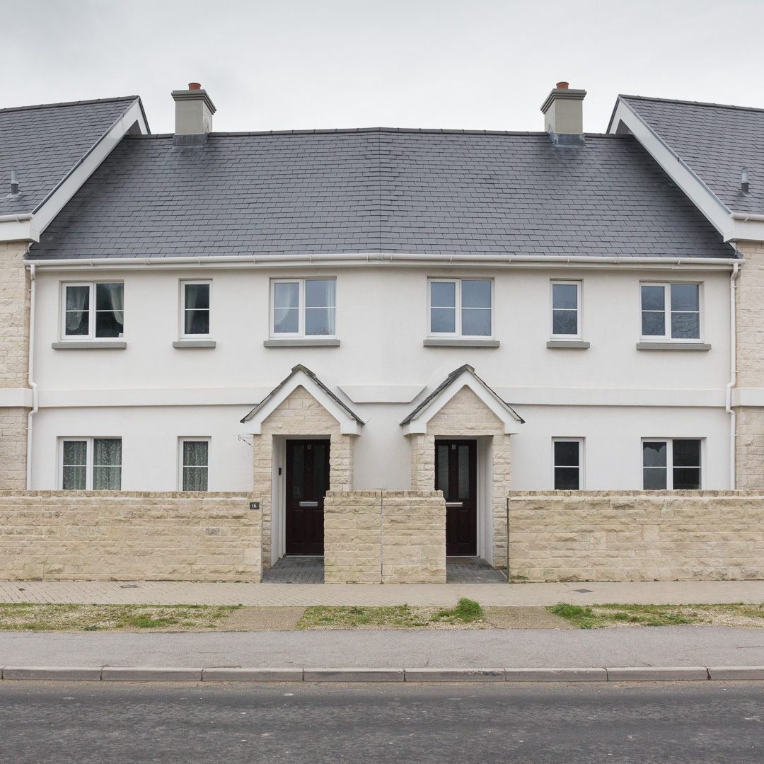 Pennsylvania Heights. 'A Pioneering, Energy Efficient Development of Stunning 3 Bedroom Houses' Portland, Dorset.