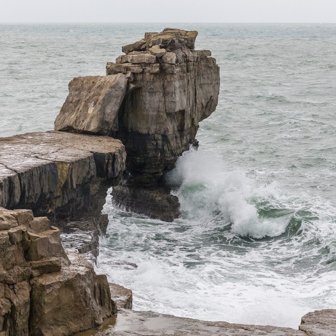 Pulpit Rock, Portland Bill, Dorset.