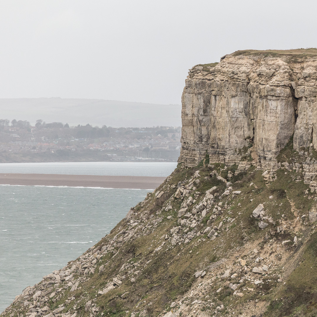 Blacknor Cliffs, Portland, Dorset.