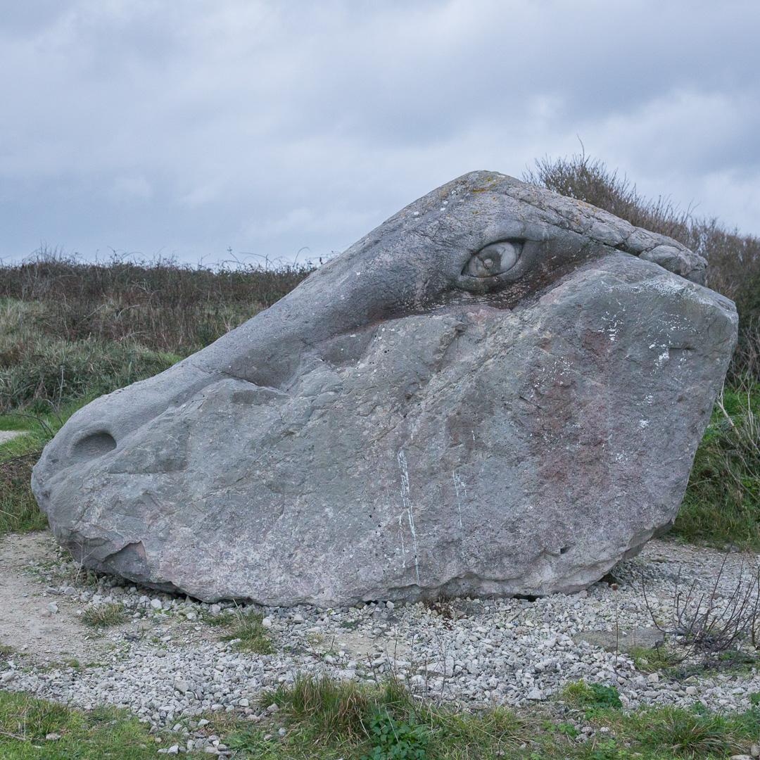 Tout Quarry Sculpture Park, Portland, Dorset.