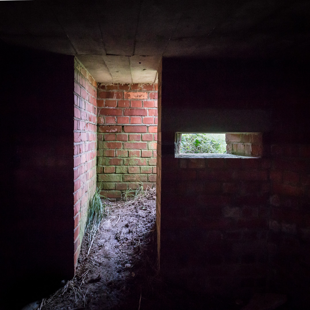 Pill Box Interior, Fleet, Dorset.