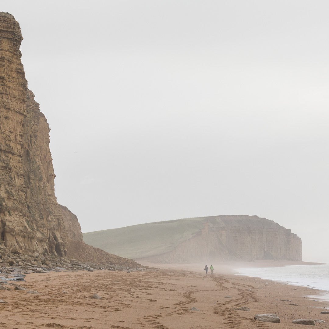 Burton Cliff from West Bay, Dorset.
