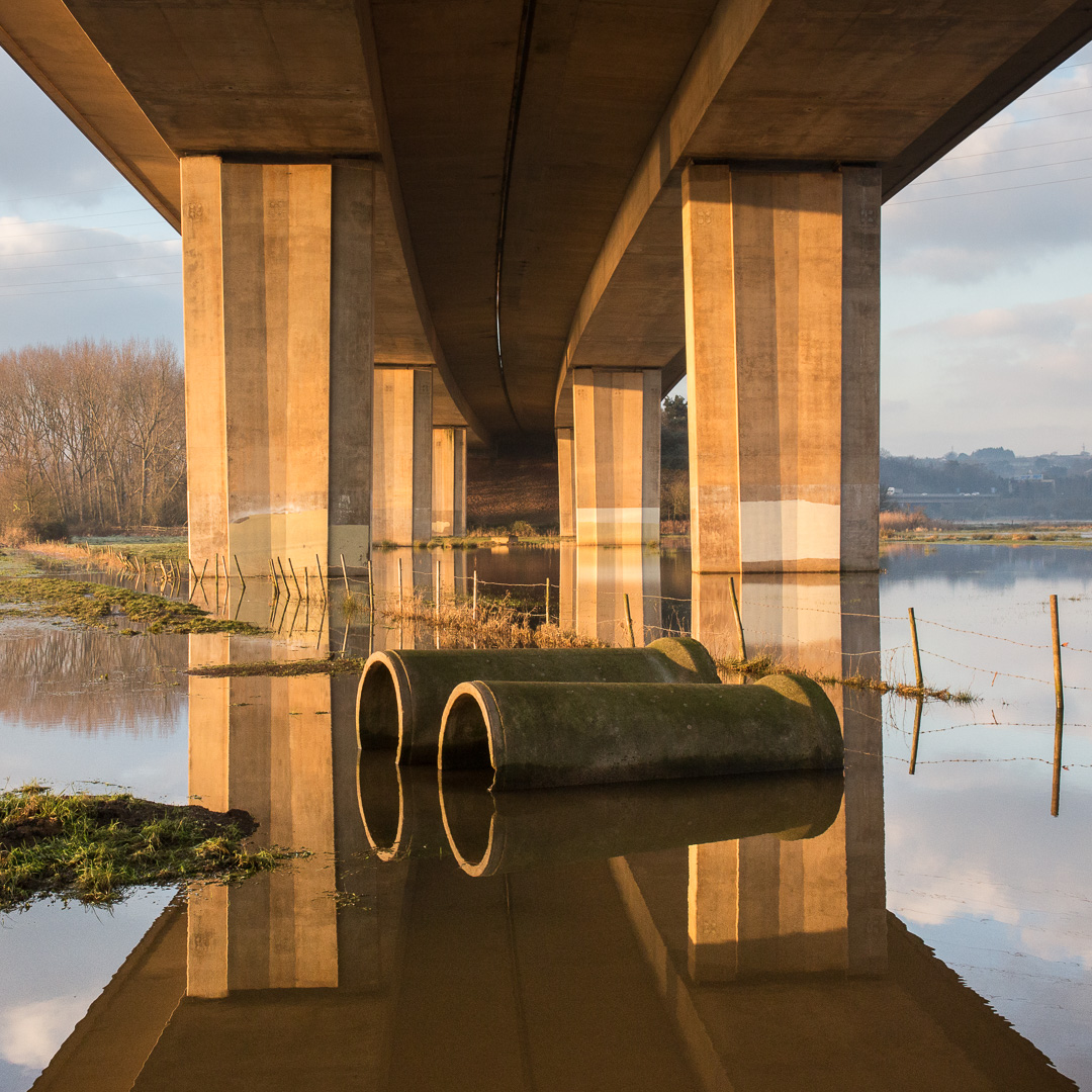 M5 Exe Viaduct II, Devon.